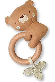NATURES PUREST Teddy teething rattle