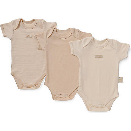 NATURES PUREST Three piece bodysuit set