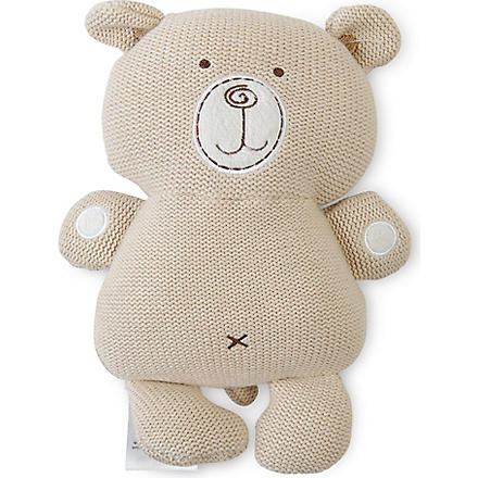 NATURES PUREST Knitted bear