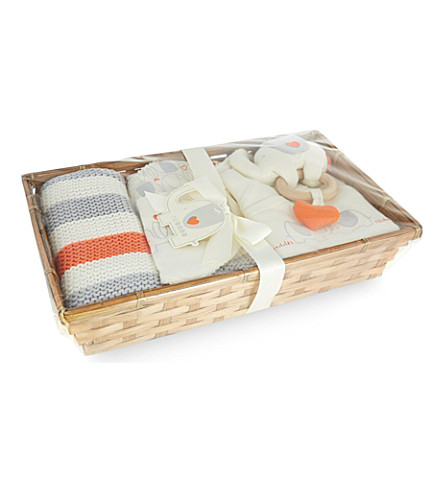 NATURES PUREST My First Friend baby hamper (White