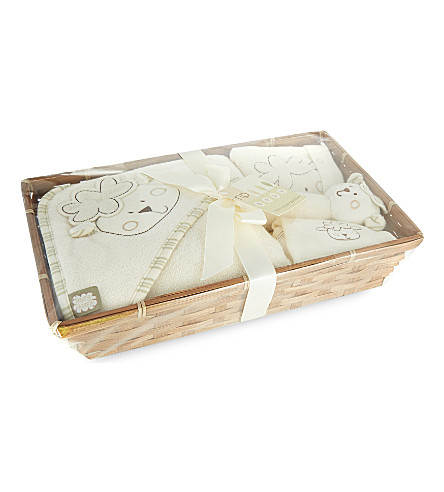 NATURES PUREST Sleepy Sheepy baby hamper (White