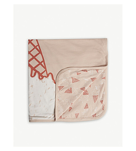 STELLA MCCARTNEY Toasty ice cream blanket (Icecream