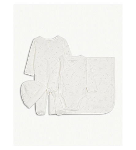 STELLA MCCARTNEY Little Starling welcome gift set 3-6 months (Cloud