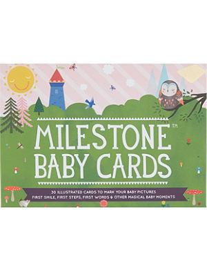 MILESTONE CARDS Milestone baby cards