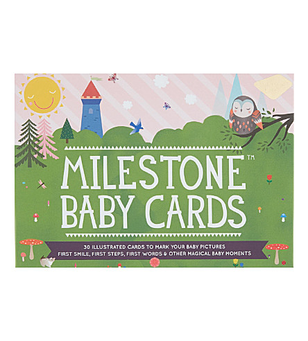 MILESTONE CARDS Milestone baby cards (Multi