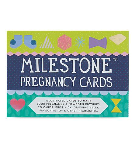 MILESTONE CARDS Milestone pregnancy cards (Multi