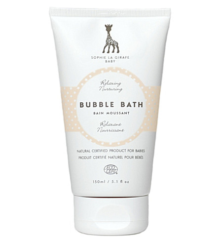 SOPHIE THE GIRAFFE Baby bubble bath 150ml