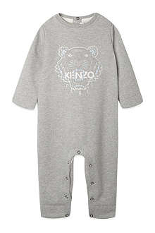 KENZO Embroidered tiger playsuit 1-12 months