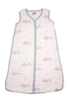 ADEN + ANAIS Set of four 'for the birds slumber' swaddles