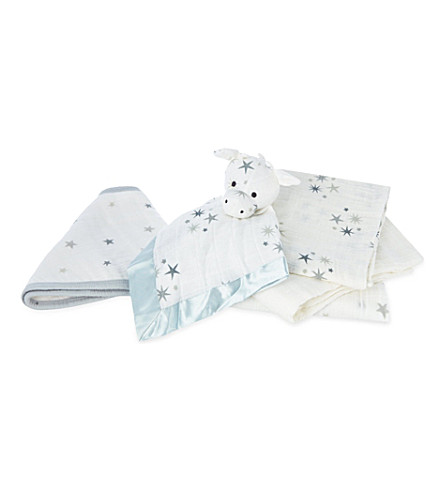 ADEN + ANAIS New Beginnings baby gift set (Twinkle