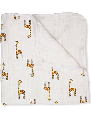 ADEN + ANAIS Jungle jam giraffe sleeping bag
