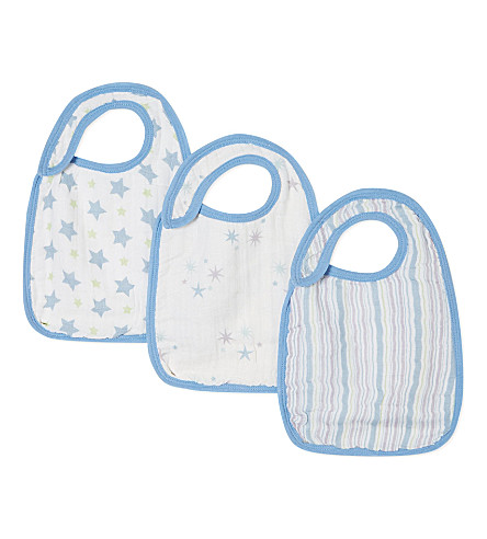 ADEN + ANAIS Snap bibs triple-pack (Prince+charming