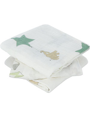 ADEN + ANAIS Musy cotton muslin cloths pack of three