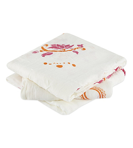 ADEN + ANAIS Pyara bamboo swaddles pack of three (Pyara