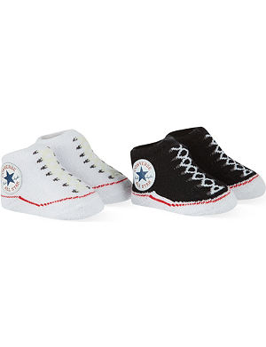CONVERSE 2 pack booties 0-6 months