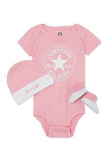 CONVERSE Three-piece baby gift set 0-6 months