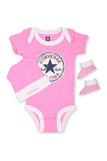 CONVERSE Three-piece set 0-12 months