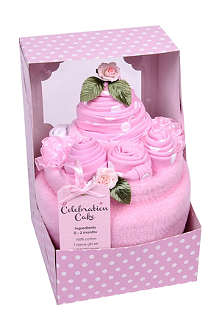 BLUEBIRD Celebration Cake seven-piece set 3-6 months