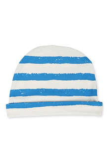 NOE AND ZOE Striped beanie hat 0-12 months
