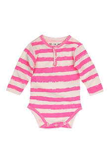 NOE AND ZOE Striped bodysuit 0-18 months