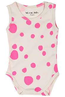 NOE AND ZOE Printed sleeveless bodysuit 0-18 months