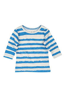NOE AND ZOE Striped long-sleeve t-shirt 0-24 months