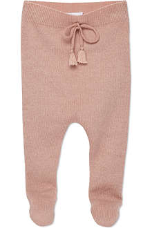 BELLE ENFANT Laurie cashmere leggings 0-12 months
