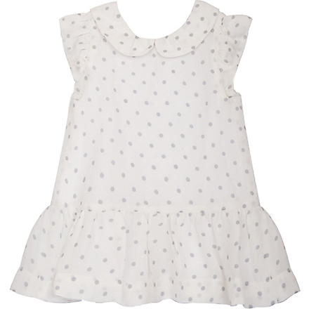 BELLE ENFANT Celeste silk dress 0-24 months (Ivory