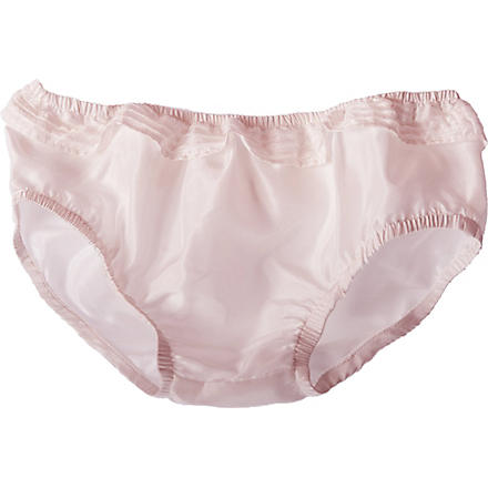 BELLE ENFANT Celine silk bloomers 0-12 months (Blush