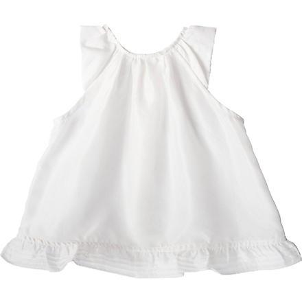 BELLE ENFANT Celine silk top 0-24 months (Ivory