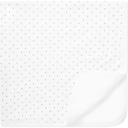 LIVLY Dots blanket (White/silver