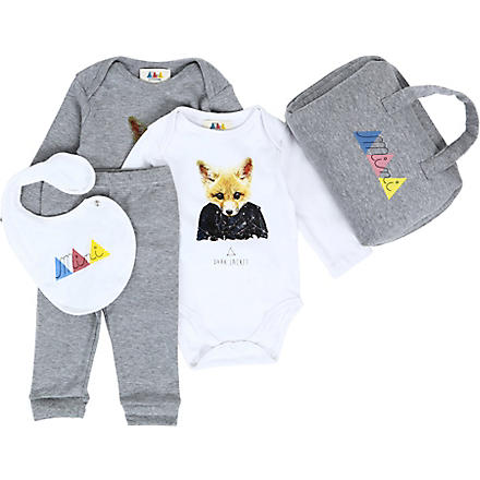 ELEVEN PARIS Litte Fox mini gift set 3-18 months (Multi