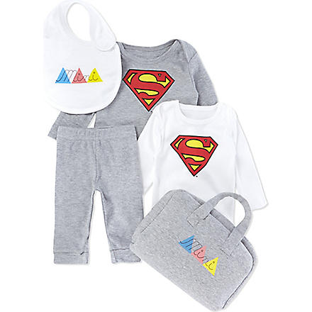 ELEVEN PARIS Mini Superman gift set 3-18 months (Multi