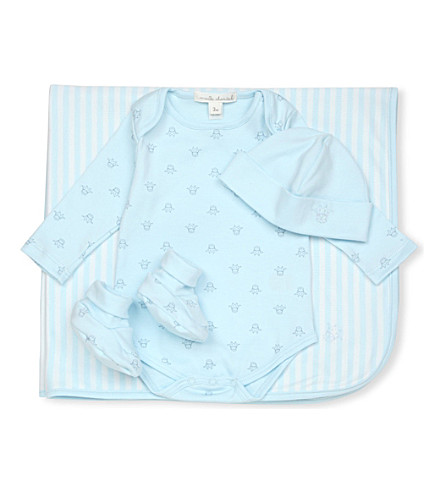 MARIE CHANTAL Tino baby gift set (Blue