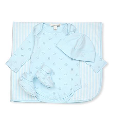MARIE CHANTAL Tino baby gift set (Blue