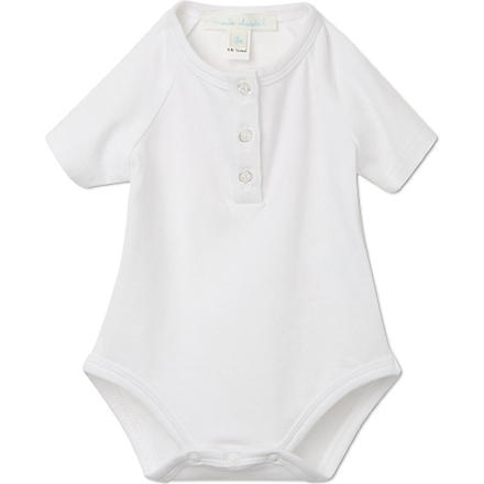 MARIE CHANTAL Short sleeved body suit 0-12 months (White
