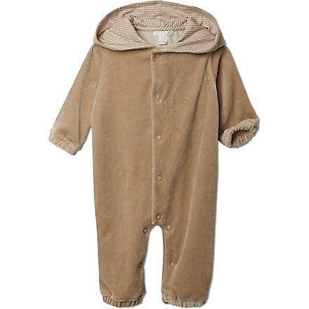 MARIE CHANTAL Velour bear suit 0-12 months (Caramel