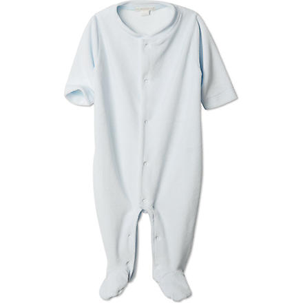MARIE CHANTAL Angel wing sleepsuit 0-6 months (Blue