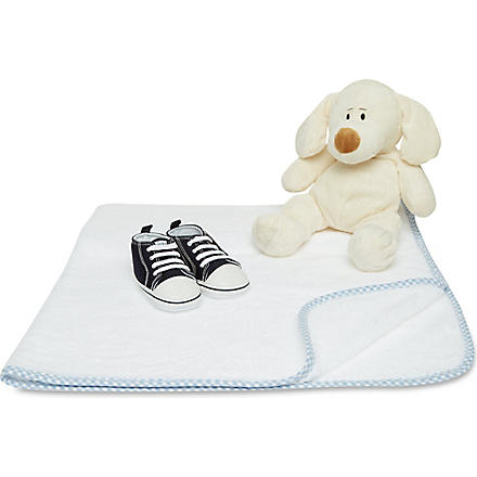 MY 1ST YEARS Puppy gift set (Blue