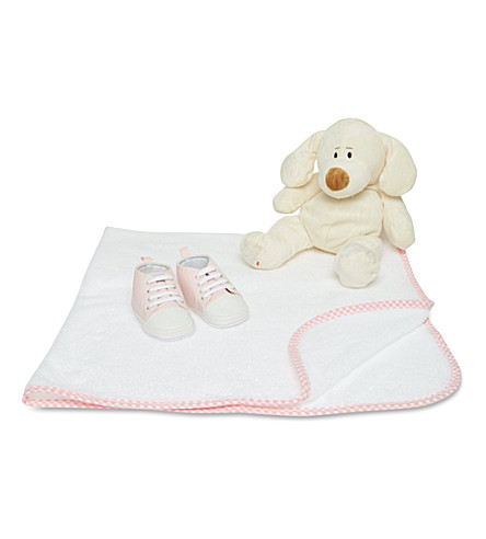MY 1ST YEARS Puppy gift set (Pink