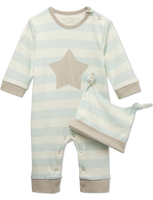 MY 1ST YEARS Star two-piece gift set 0-12 months