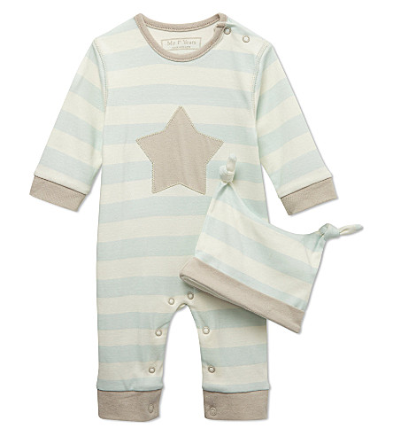 MY 1ST YEARS Star two-piece gift set 0-12 months (Blue