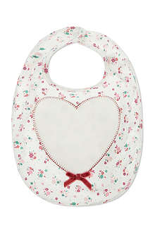 MY 1ST YEARS Heart bib