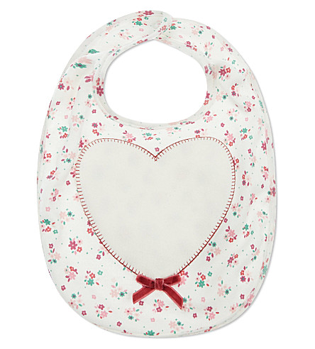 MY 1ST YEARS Heart bib (Pink