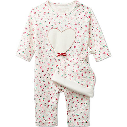 MY 1ST YEARS Heart two piece gift set (Pink