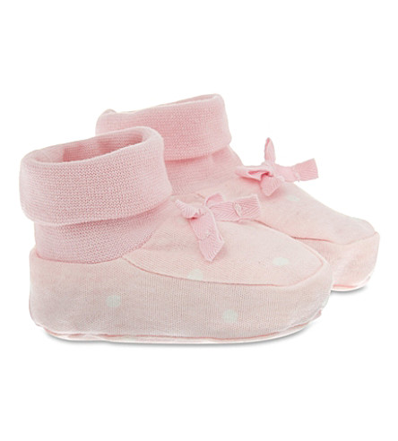 MY 1ST YEARS Bunny booties (Pink
