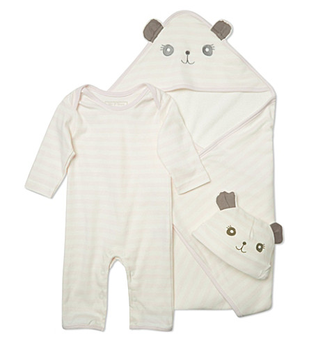 MY 1ST YEARS Three piece panda set 3-6 months (Pink