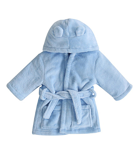 MY 1ST YEARS Hooded bathrobe with ears 1-2 years (Blue