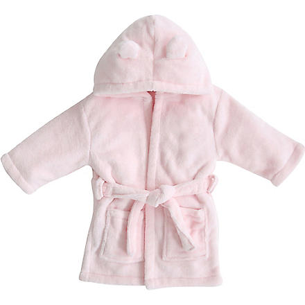 MY 1ST YEARS Hooded bathrobe with ears 1-2 years (Pink