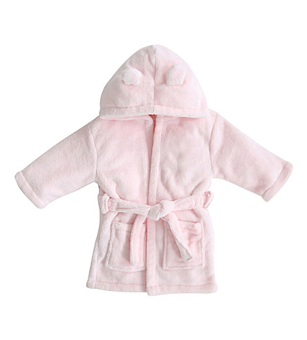 MY 1ST YEARS Hooded bathrobe with ears 1-2 years (Pink